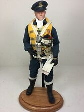 1/6 BBI BRITISH RAF SPITFIRE FIGHTER PILOT+PARACHUTE&OAK STAND WW2 DRAGON DID 21