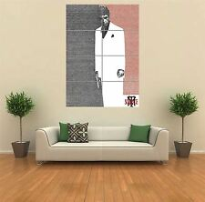 SCARFACE TYPOGRAPHY MOVIE FILM AL PACINO HUGE GIANT ART PRINT POSTER WALL G943