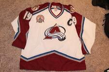 Colorado Avalanche Joe Sakic 2001 STANLEY CUP Jersey sewn CCM XXL Authentic