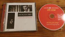 DUNCAN DHU AUTOBIOGRAFIA 25 CANCIONES CD