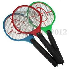 Electric Bug Zapper Racket Insect Fly Mosquito Swatter Killer Bat Rechargeable