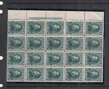 Honduras SC 33 Imprint Block of 20 MOG (6dji)