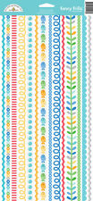 Doodlebug Design Anchors Aweigh Collection Cardstock Stickers Fancy Frills 5146