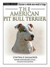 BOOK HB Animal Welfare League Benefit Pets Dogs AMERICAN PIT BULL TERRIER W/DVD