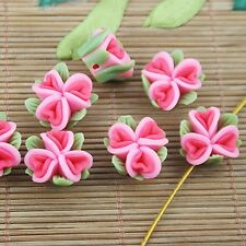 10pcs handmade fimo polymer clay flower finding HP15