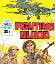 A Fleetway War Picture Library Pocket Comic Book Magazine #1960 Fighting Blood