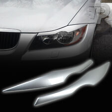 PAINTED BMW E90 EYELID HEADLIGHT EYEBROW EYELIDS 06-11