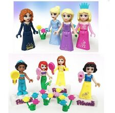 Lego Compatible Disney Princess Minifigures Lot of 8 Snow White Collectable Gift