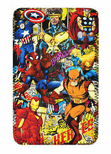 Comic Super Heroes COVER, CASE POUCH SLEEVE Fits Hipstreet W7 windows tablet