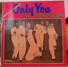 THE PLATTERS ONLY YOU  NOUVELLE VERSION FRENCH LP PRESIDENT