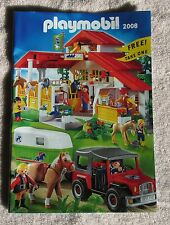 PLAYMOBIL COLLECTION 2008 CATALOG