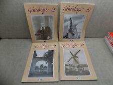 Généalogie 62 Année complète 1996 Revue Association Généalogique PAS-DE-CALAIS
