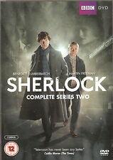 SHERLOCK - Series 2. Benedict Cumberbatch, Martin Freeman. BBC (2xDVD SET 2012)