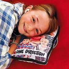 One Direction Hide n Sleep Cushion with Notebook, Purse, MP3 Pocket Feed