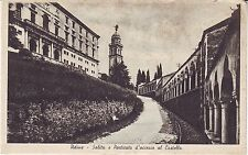 Italy Udine Salita e Porticato d'accessa al Castello circa 1930 unused postcard