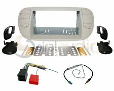 Radio Dash Kit Combo Standard 2DIN WHITE PEARL + Wire Harness + Antenna FT11