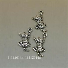 20pc Retro Tibetan Silver Charms Cat Animal Pendant Beads DIY Accessorie  PL1117