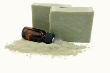 Greek Olive Oil Facial Soap Green Clay And Tea Tree Oil, SLS Free