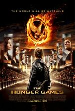 SUZANNE COLLINS THE HUNGER GAMES MOVIE ARENA POSTER 22x34 NEW FREE SHIPPING
