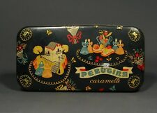 Vintage Italian Candy Tin, Perugina, Caramelle, Made and printed in Italy