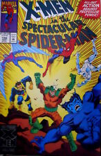 X Men in the Spectacular Spider Man 198 1993 Ed. Marvel Comics [G.198]