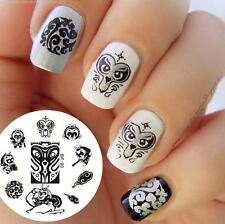 BORN PRETTY Nail Art Stamping Plate Monkey King Image Stamp Template BP90