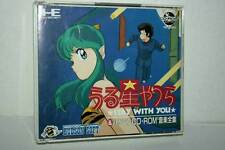 URUSEI YATSURA STAY WITH YOU GIOCO USATO OTTIMO PC ENGINE CD ROM ED JAPAN 38208