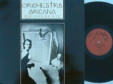 Orchestra Arcana ORIG FRE PS 12 Sex Psyche Etc NM '85 Bill Nelson Art Rock