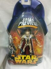 Général grievous star wars revenge of the sith sneak peek - 3.75 action figure