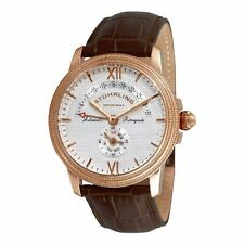 Stuhrling Original 340 3345K2 Men's Saturnalia Chairman Automatic Brown Watch