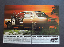 [GCG] H362 - Advertising Pubblicità -1982-  FIAT 131 SUPERMIRAFIORI 1300 TC