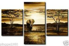 Huge Modern Oil Painting On Canvas (no framed) P0988