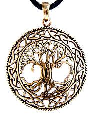 großer Lebensbaum Anhänger Bronze Yggdrasil Weltenbaum Weltesche Wikinger Nr.50A