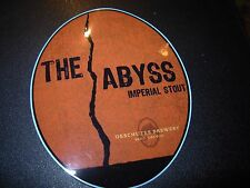 DESCHUTES BREWERY The Abyss Imperial Stout STICKER decal craft beer brewing