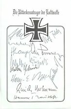 Outstanding Group [11] Knights Cross Recipients World War II Prominent Names