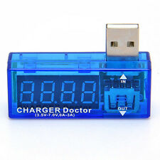 USB Charger Doctor Battery Tester Mobile Power Detector  Voltage Current Meter