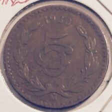 1930 MEXICO 5 CENTAVOS COIN FROM A FRESH OLD ESTATE HOARD  (YOU BE THE JUDGE !)