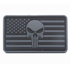 U.S. Punisher Patch USA TACTICAL ARMY MILITARY Morale BADGE VELCRO PATCHES