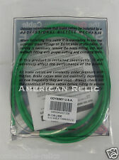 Odyssey Slic Kable Lime Green BMX Bike Brake Cable Slick Teflon Old School V U