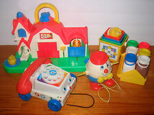 Classic Vintage Fisher Price Baby Toddler Toys