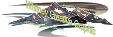 MONTANA Mountain Scene RV Graphic Differs from My other listings END CAP VERS 3