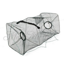 Foldable Crab Fish Crawdad Shrimp Minnow Fishing Bait Trap Cast Dip Net Cage G