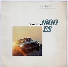 Volvo 1800 ES 1972-73 UK Market Sales Brochure P1800