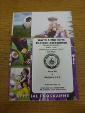 22/04/2010 North And Mid-Hertfordshire Junior Cup Final: Asia v Probuild [At Hit