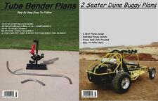2 SEAT DUNE BUGGY SANDRAIL & TUBE BENDER PLANS ON C.D