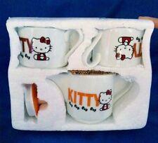 Hello Kitty Teakettle Tea Cup Set Coffee Milk Teapot Sanrio from Japan Z3023