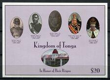 Tonga 2012 Könige und Königin von Tonga ** MNH