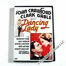 Dancing Lady DVD New Clark Gable, Joan Crawford, Fred Astaire, Franchot Tone