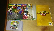 Mario Kart 64 Complete Nintendo 64 N64 Game CIB - Great