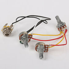 Guitar parts JB Bass Guitar Wiring Harness Prewired with 3-500k Pots New
